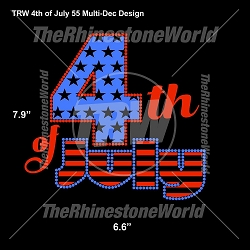 TRW 4th of July 55 Multi-Dec