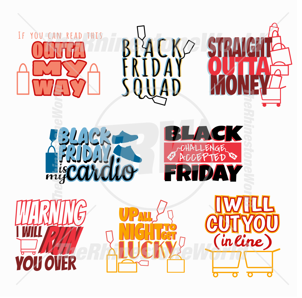 Black Friday Live Template Mini Pack 1