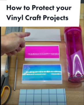 How to Protect your Vinyl decal Creations With ColorSpark Vinyl Shield