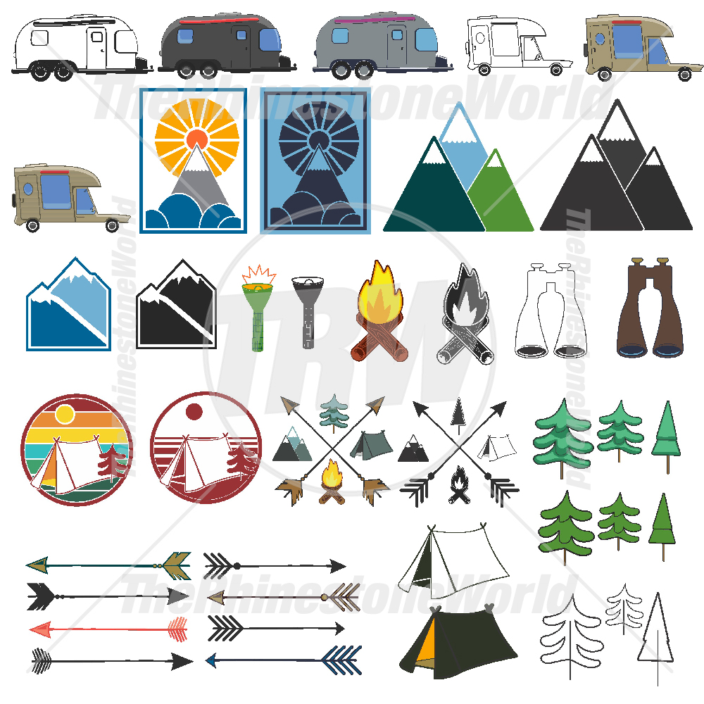 Camping Living Template Mini Pack
