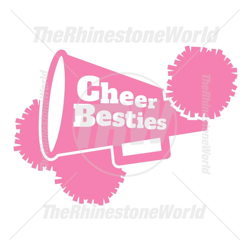 Cheer Besties Vector Design Va Cheerbesties