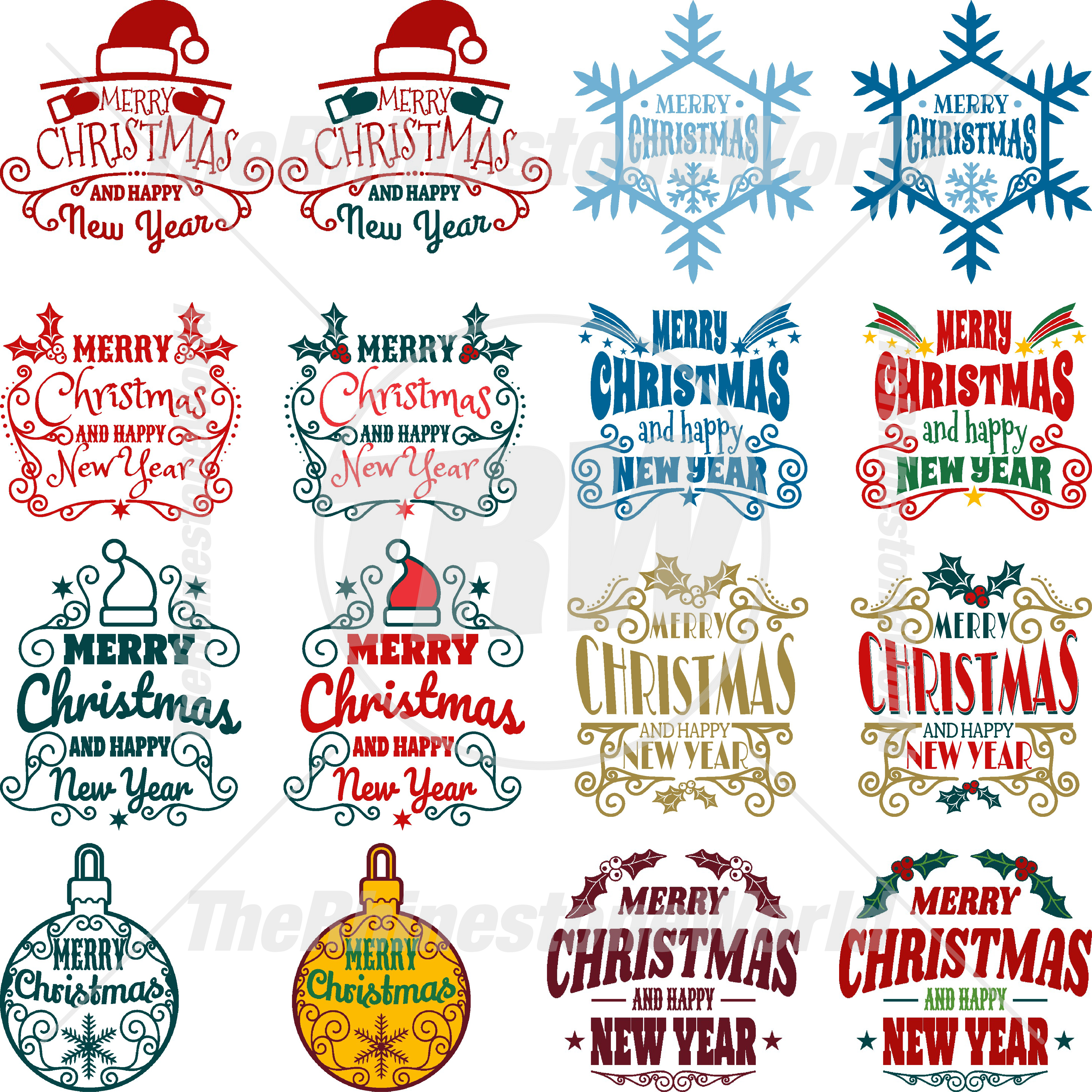 Christmas Live Template Mini Pack 2