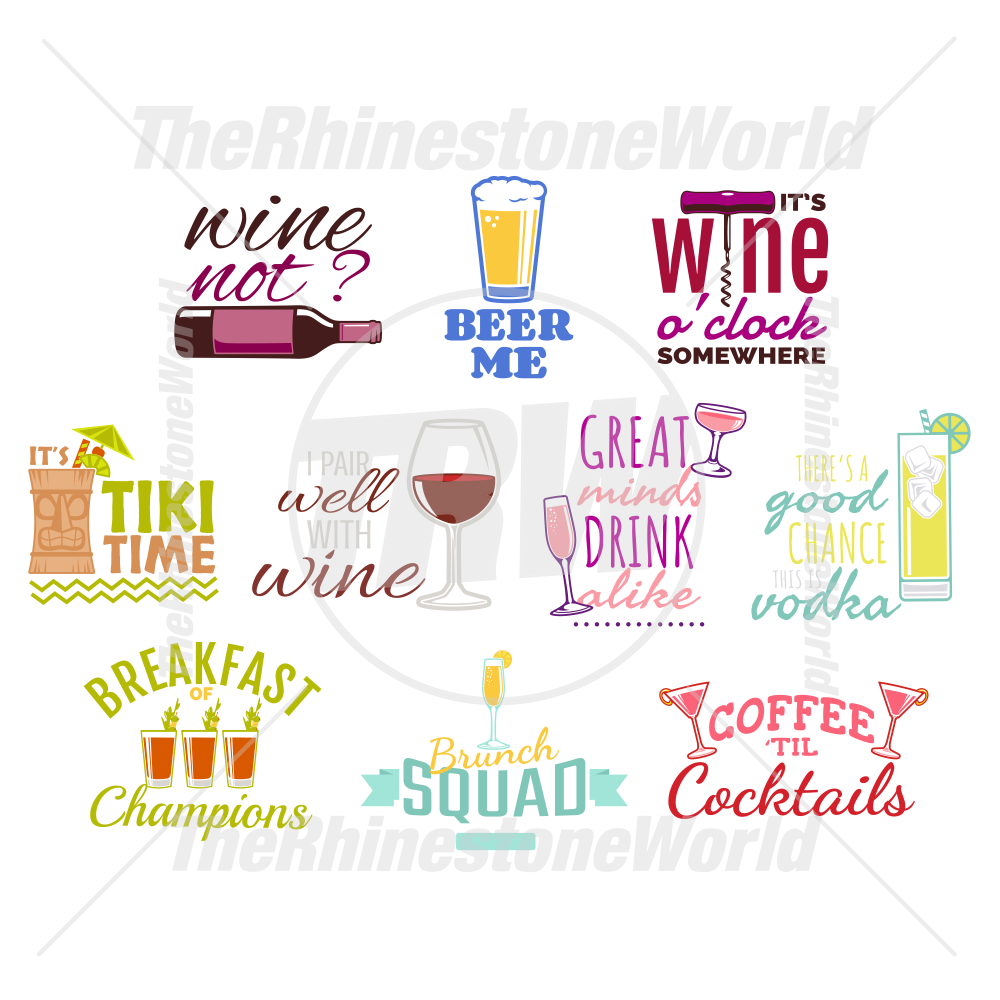 Cocktail Live Template Mini Pack 2