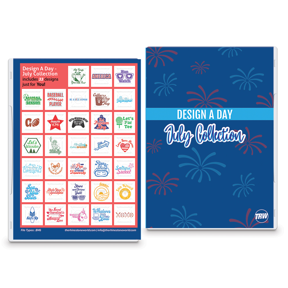 Design A Day: July Collection