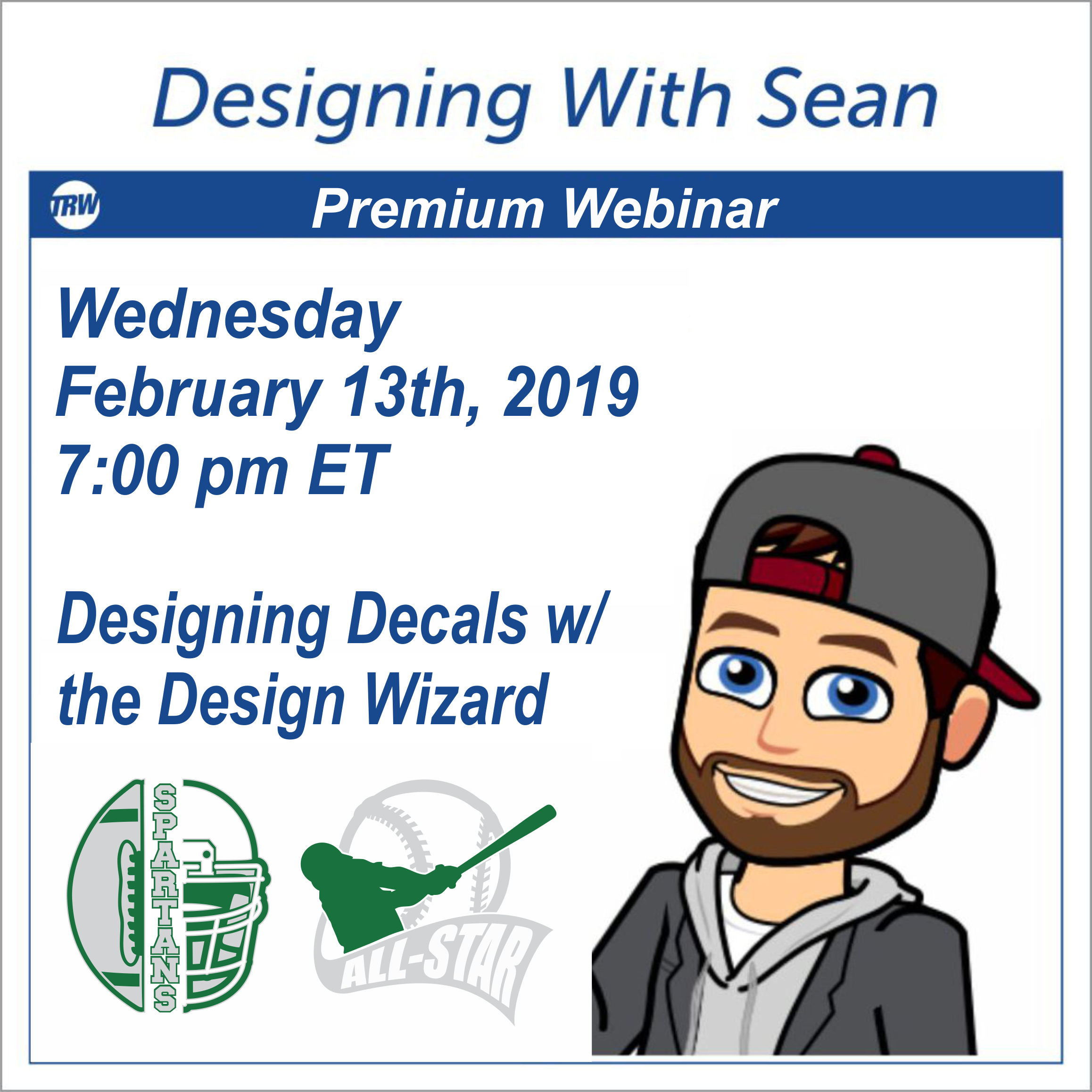 Designing with Sean - February 13th 2019