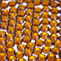 Diamond Cut Hot-Fix Pumpkin Spice SS10 Rhinestones 10-Gross