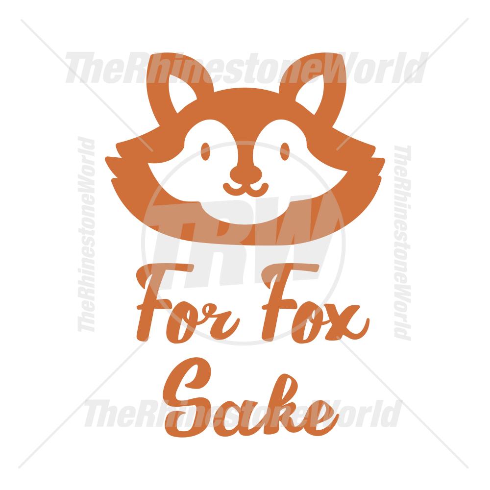 For Fox Sake Vector Design Va Forfoxsakeseptember