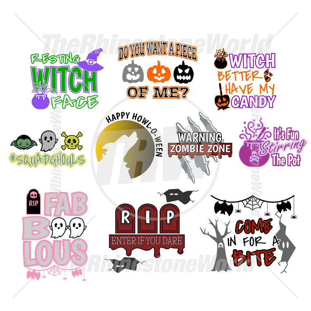 Halloween Live Template Mini Pack 5