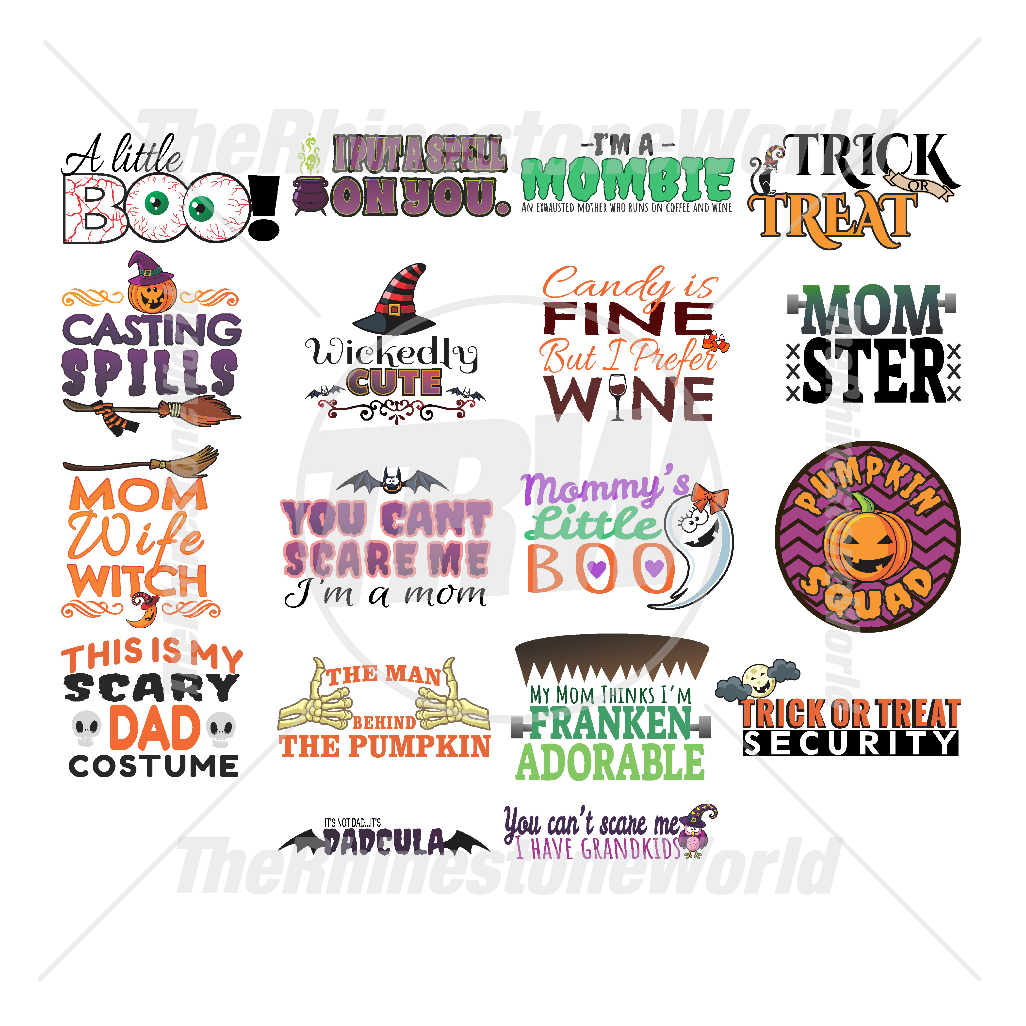 Halloween Live Template Mini Pack 3