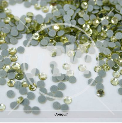 Korean 5A Low Lead Hot-Fix Jonquil SS6 Rhinestones 50-Gross