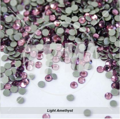 Hot-Fix Light Amethyst SS6 Rhinestones 50-Gross