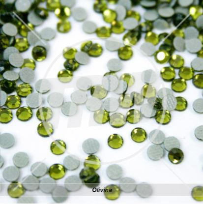 Hot-Fix Olivine SS16 Rhinestones 1-Gross