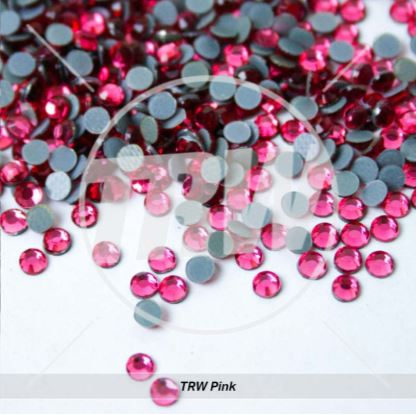 Hot-Fix TRW Pink SS16 Rhinestones 200-Gross