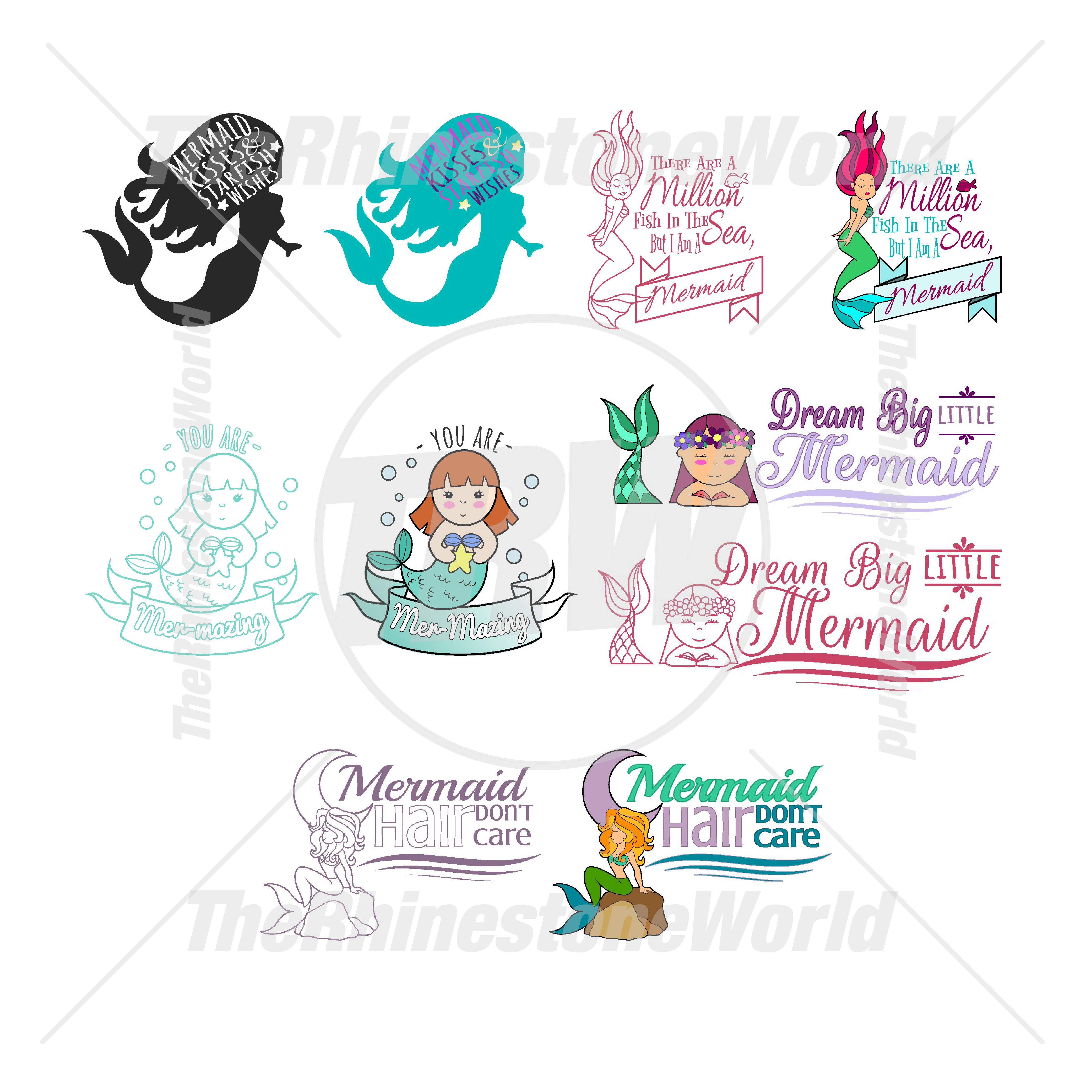 mermaid live template mini pack 1
