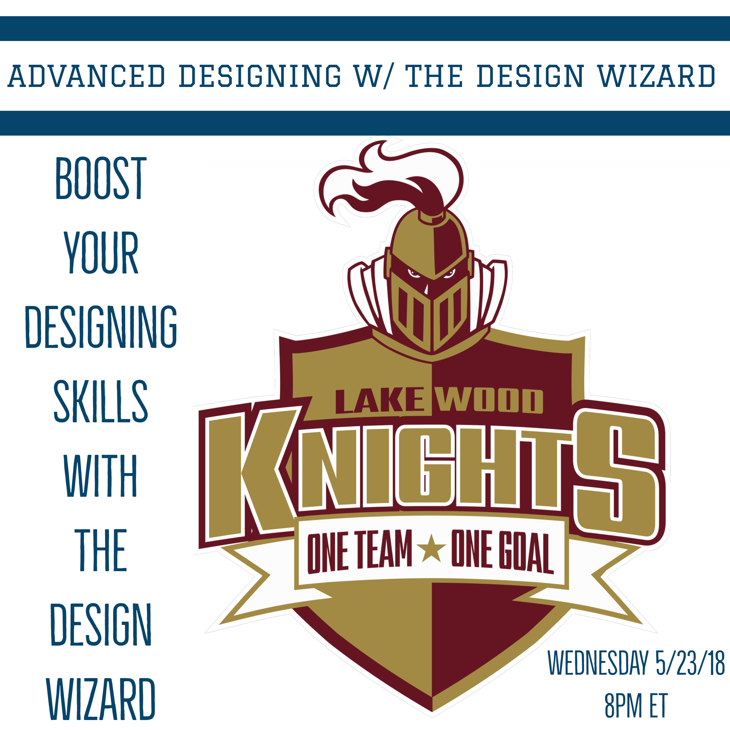 05/23/2018 Advanced Designing with the Design Wizard