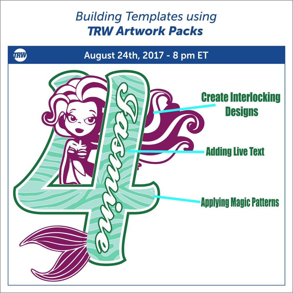 08/24/17 Building Templates Using TRW Artwork Packs