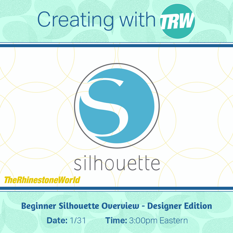 Beginner Silhouette Overview - Designer Edition - January 31st, 2018