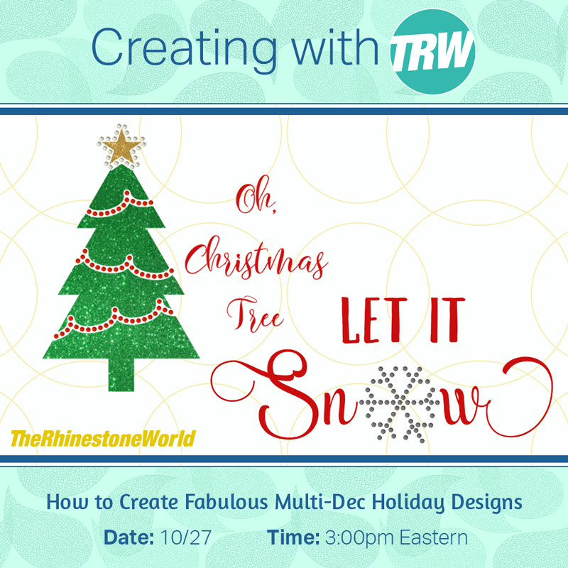 How to Create Fabulous Multi-Dec Holiday Designs - October 27th, 2017