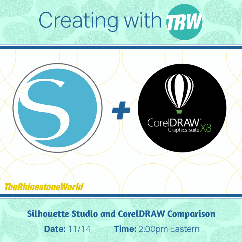 Silhouette Studio and CorelDRAW Comparison - November 14th, 2017