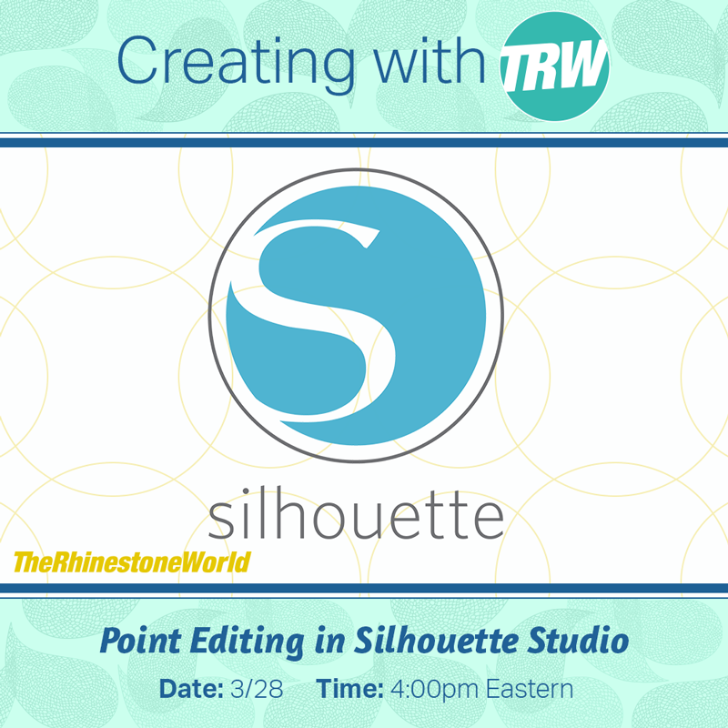 Silhouette Studio Point Editing Basics - March 28th, 2017