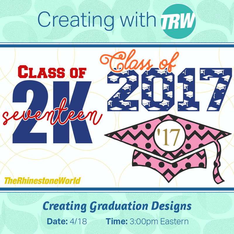 Creating Graduation Designs in Silhouette Studio - April 18th, 2017