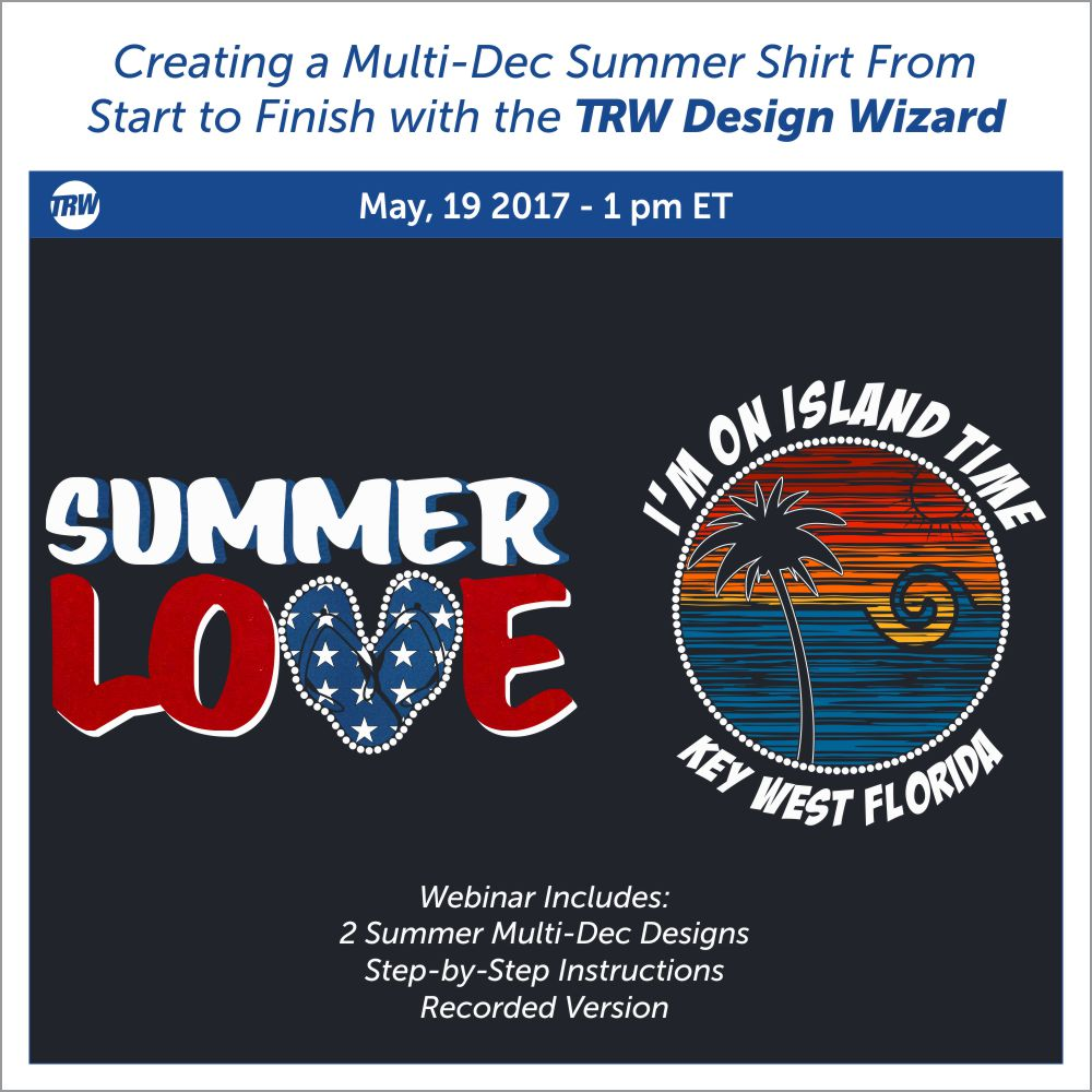 5/19/17-Creating Multi-Dec Summer Shirts