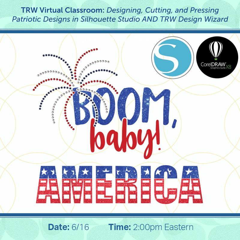 Creating Patriotic Designs - June 16th, 2017