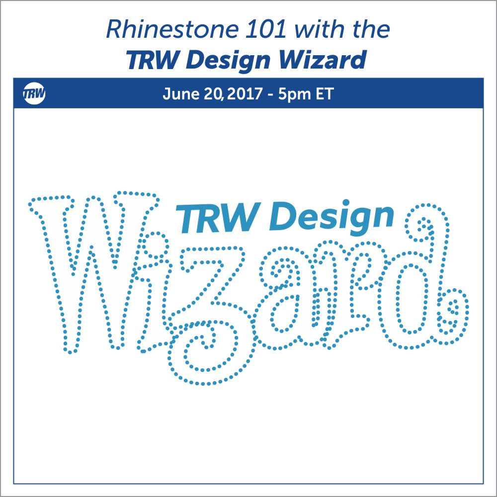 Rhinestone 101 Webinar - June 20th, 2017