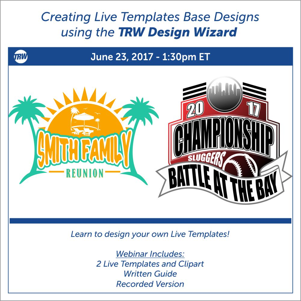 Creating Live Templates Base Designs - June 23rd, 2017
