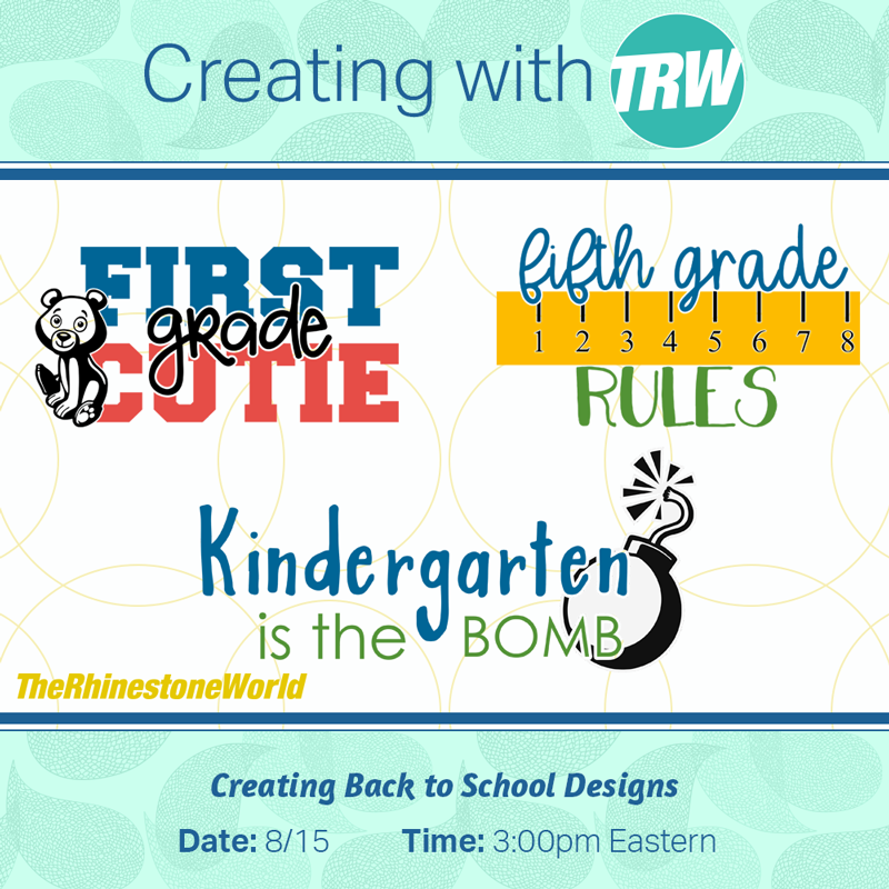 Creating Back to School Designs in Silhouette Studio