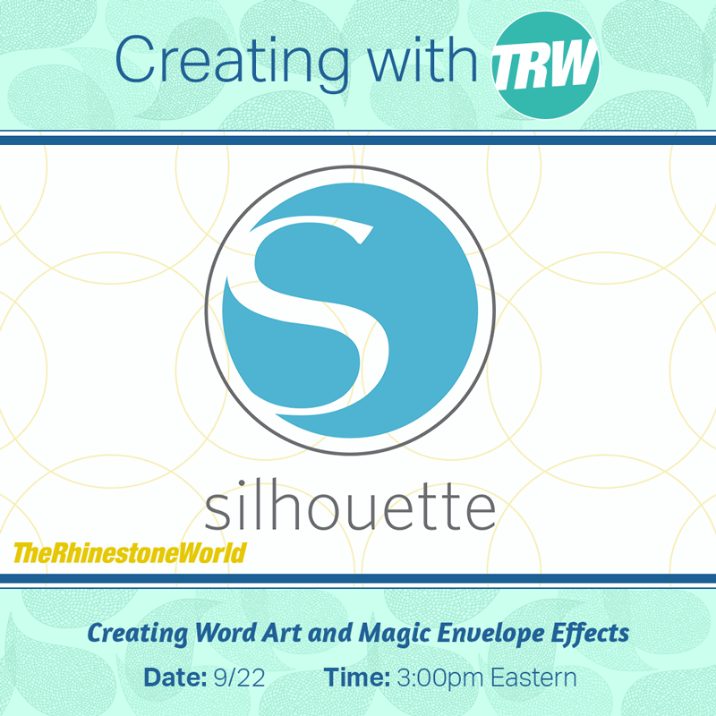 9/22/17 - Word Art / Magic Envelopes in Silhouette Studio
