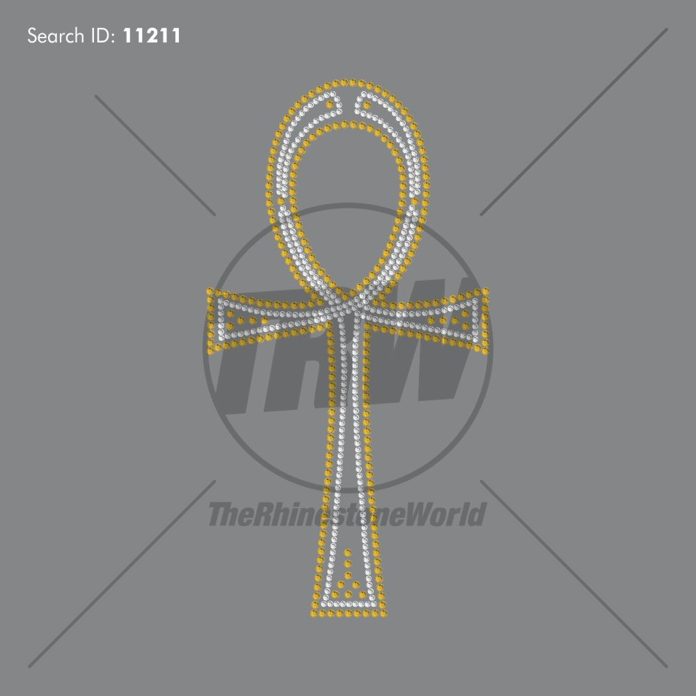 Ankh 101 Rhinestone Design - Download