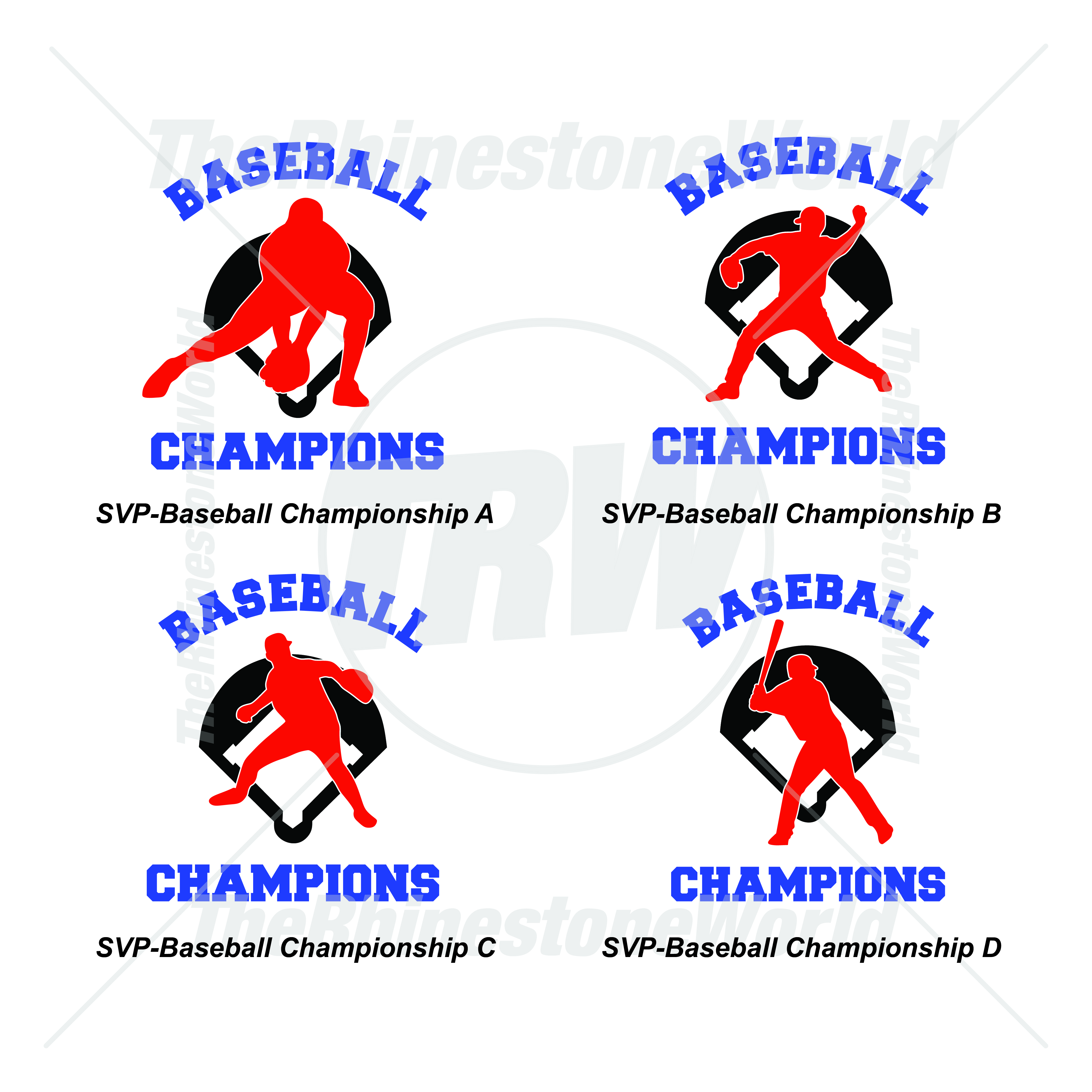 Athletic Vectors Vol 1 Baseball Championship - Download
