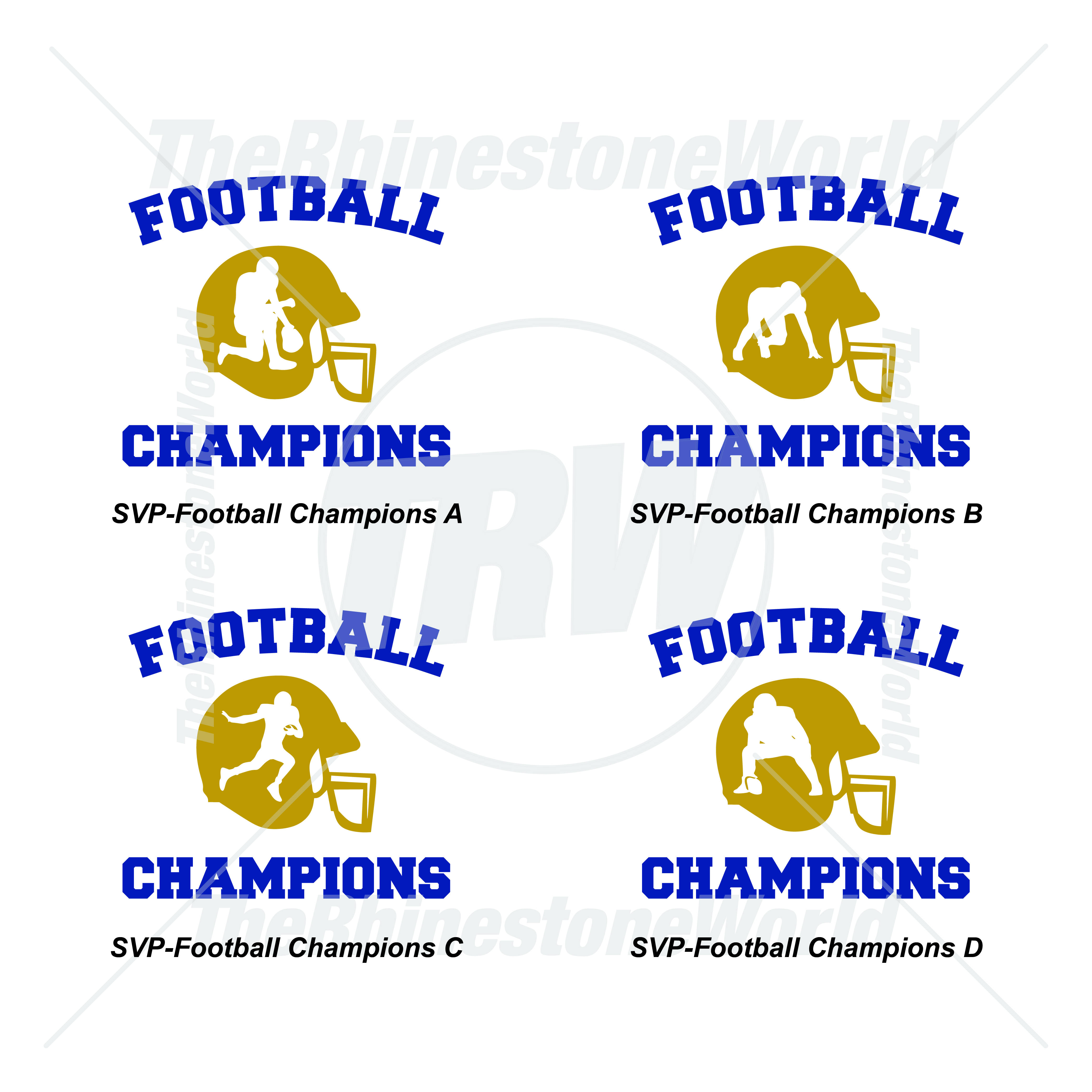 Athletic Vector Vol 1 Football Champions - Download