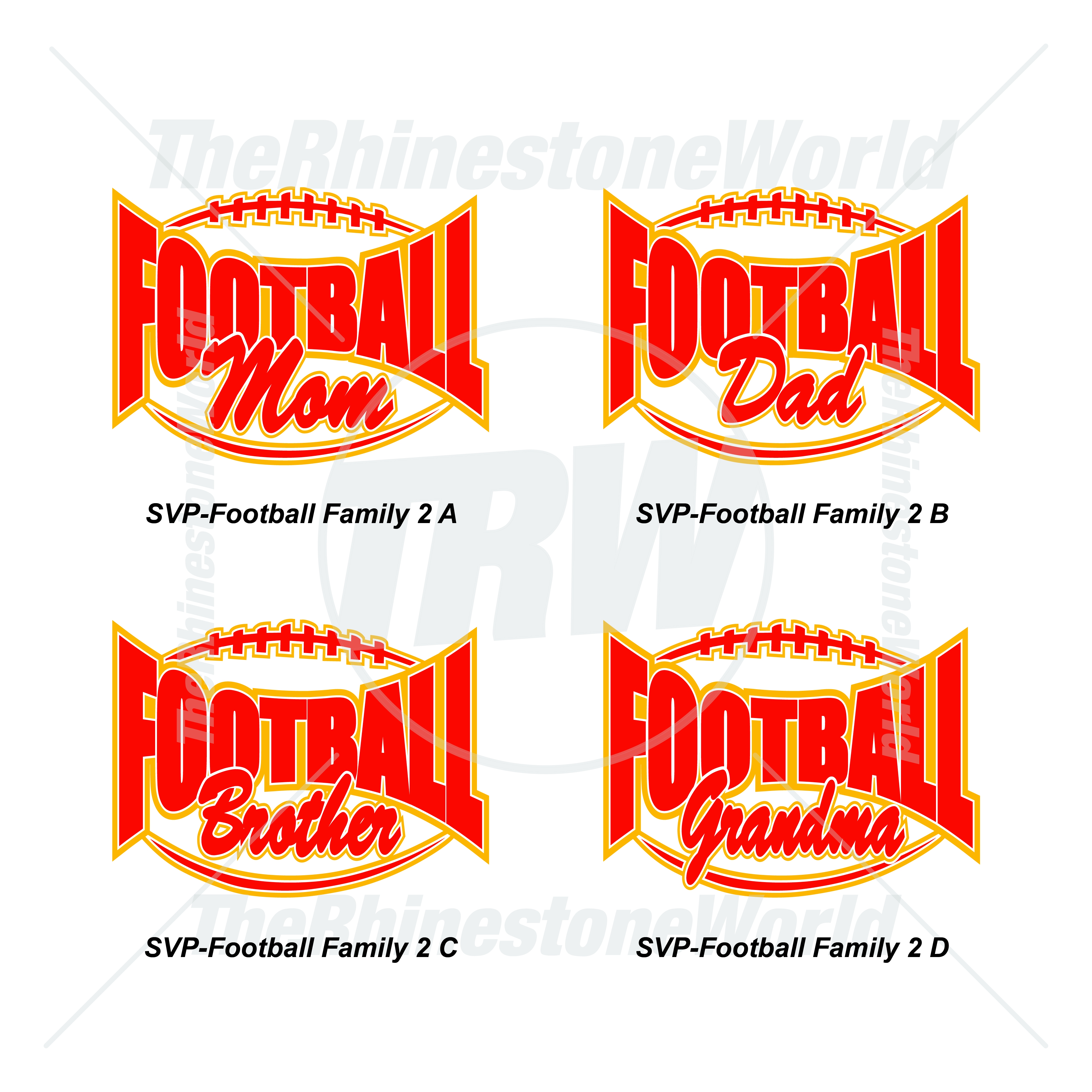 Athletic Vector Vol 1 Football Family 2 - Download
