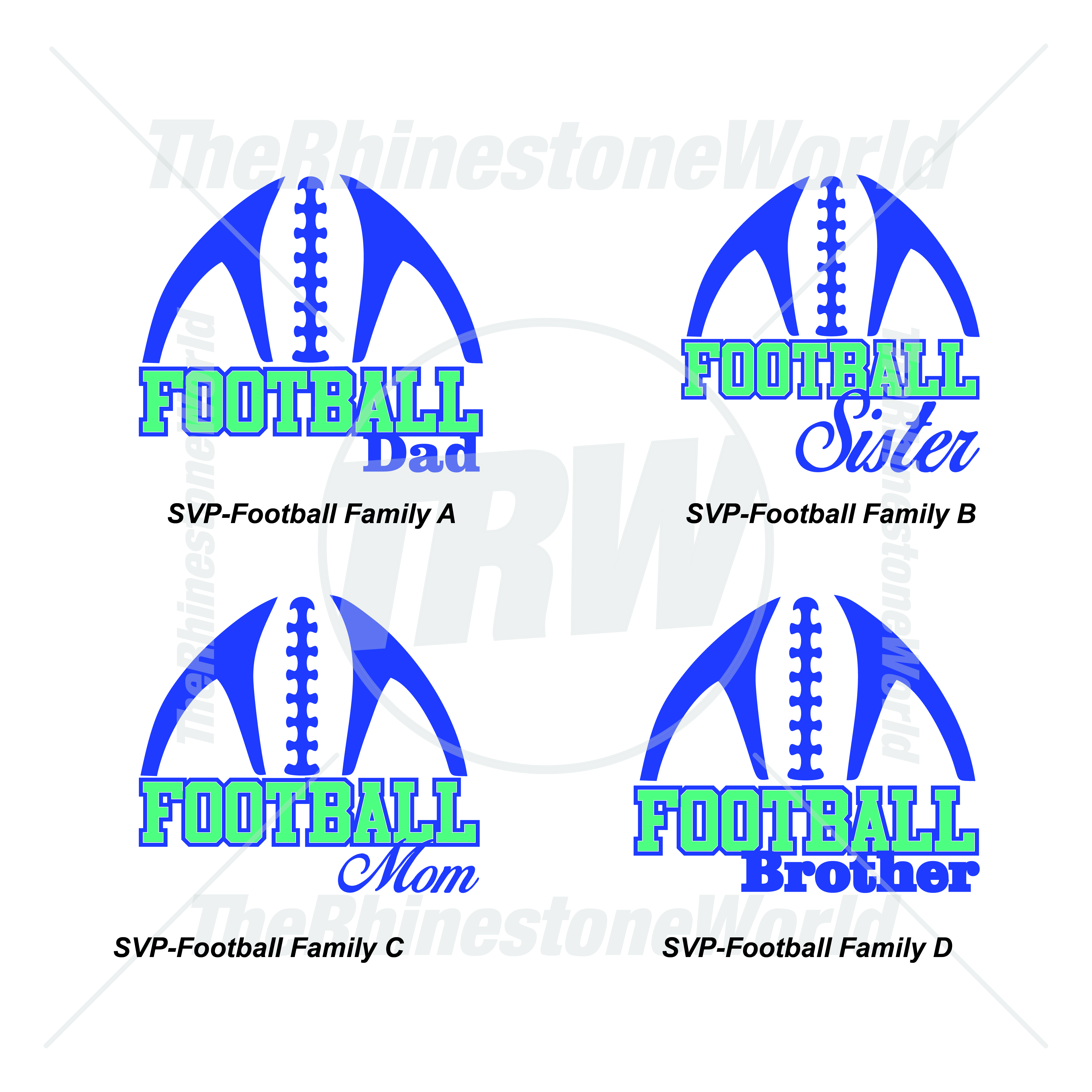 Athletic Vector Vol 1 Football Family - Download