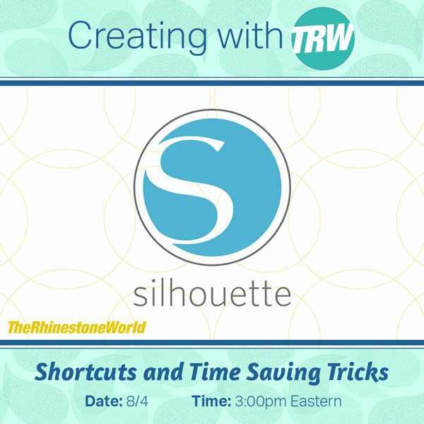 08/4/16 BEGINNER: Silhouette Studio Shortcuts