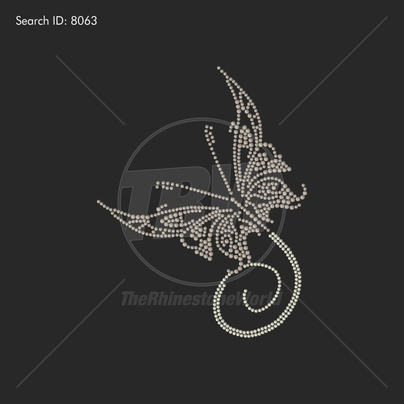 BUTTERFLY 99 Rhinestone Design - Download