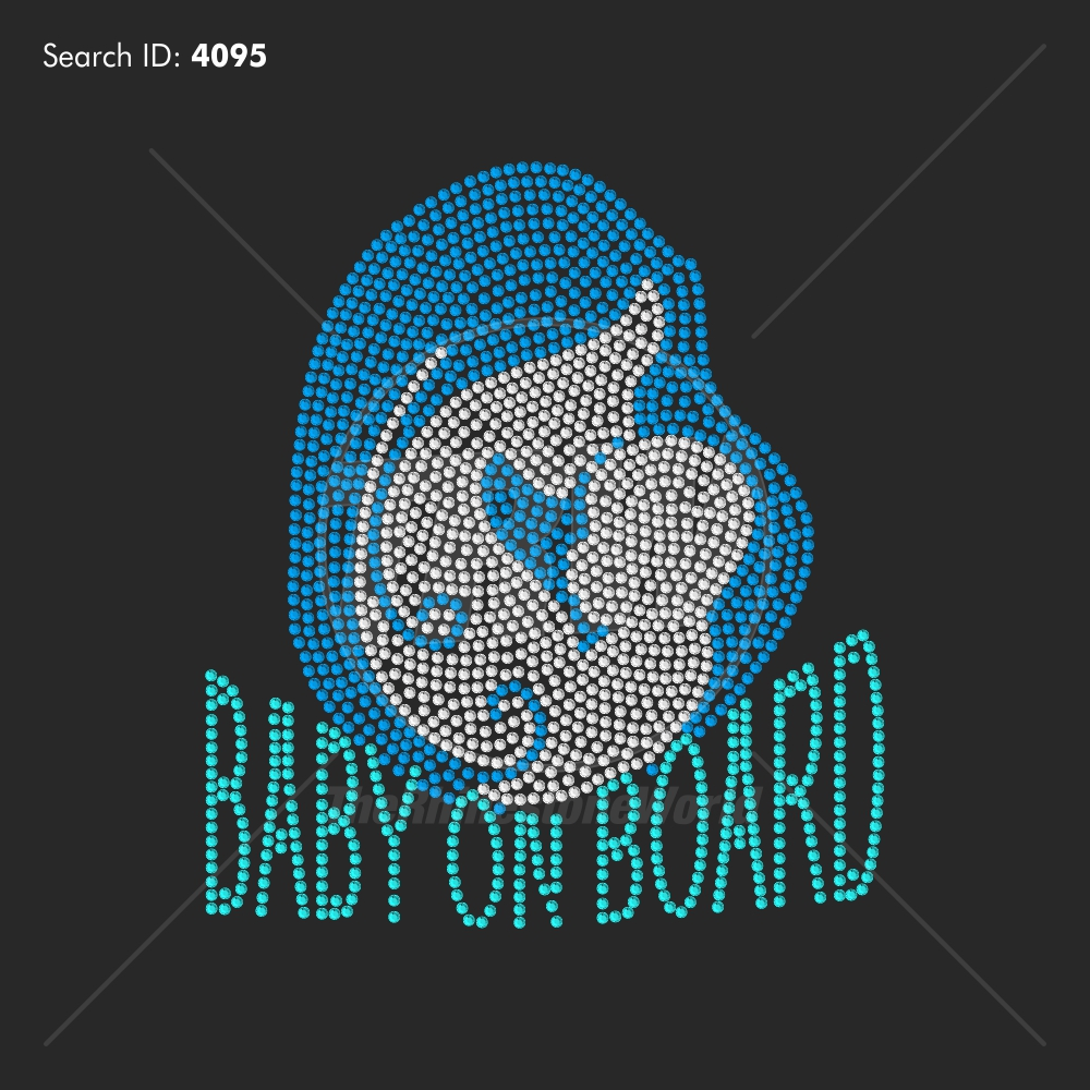 Baby On Board - Pre-Cut Template