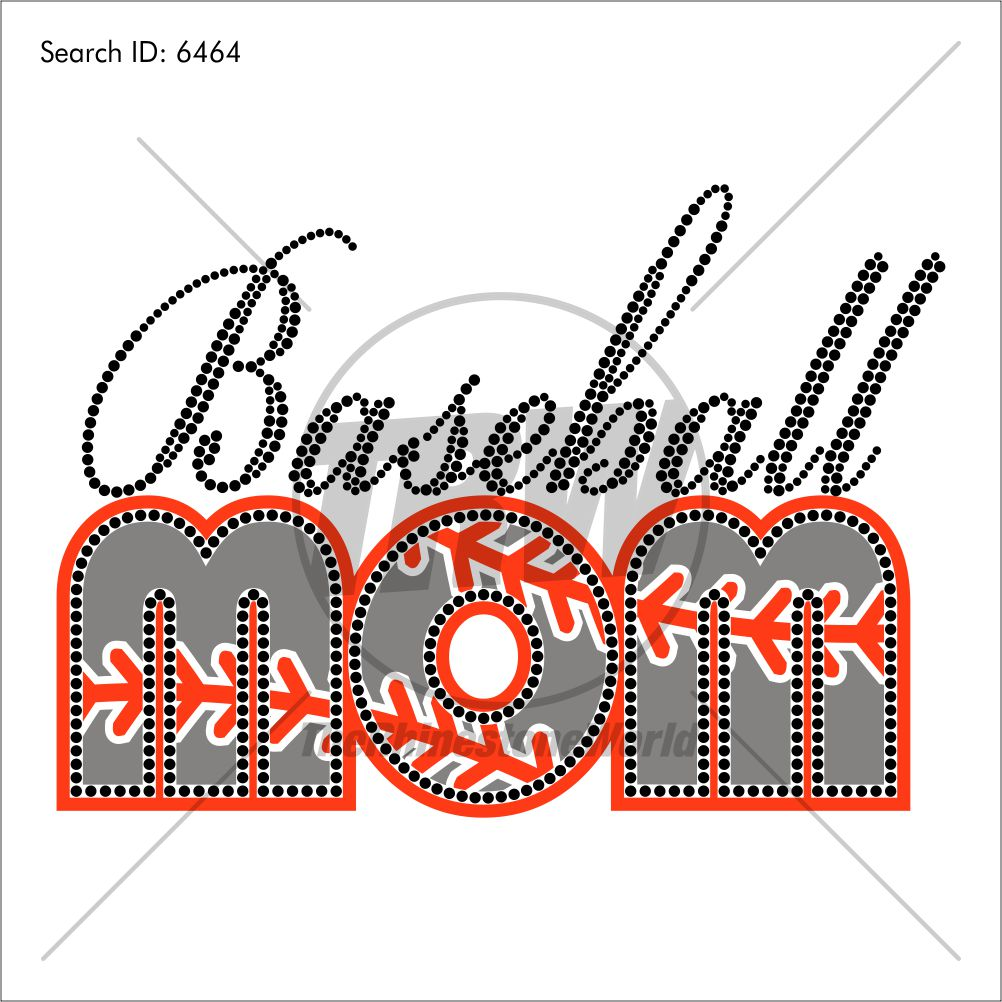 Baseball Mom 2 Multi-Dec Design - Download