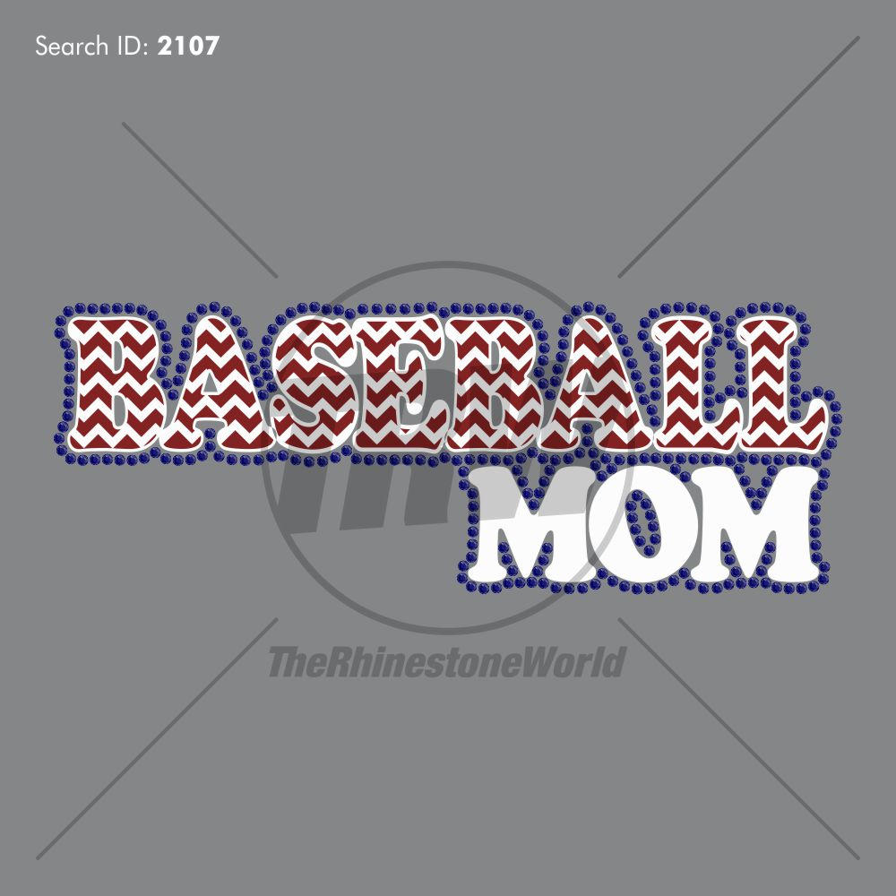 Baseball Mom 5 Multi-Dec Design - Download