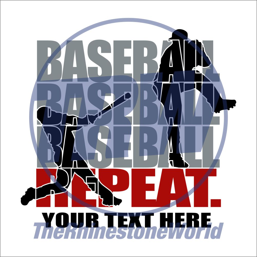 Baseball Repeat Live Template - Download
