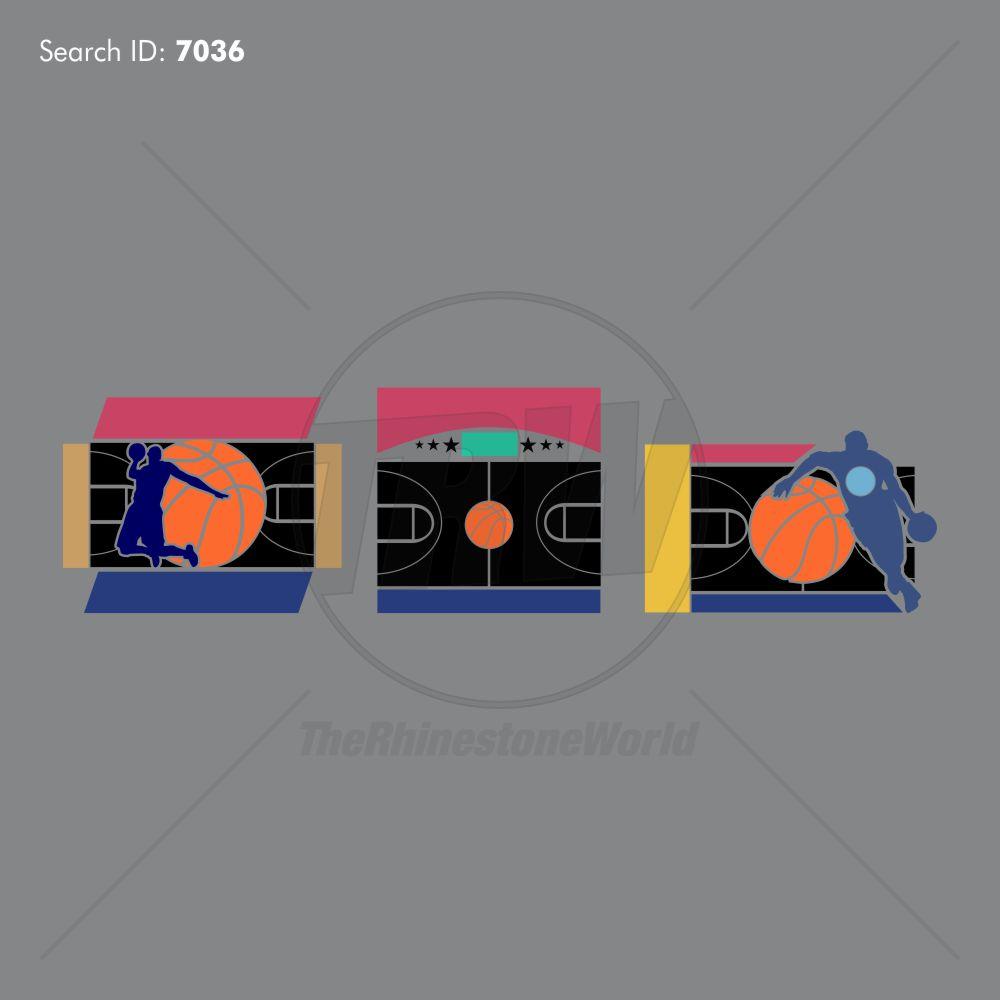 Basketball Court Magic Templates Design Pack - Download