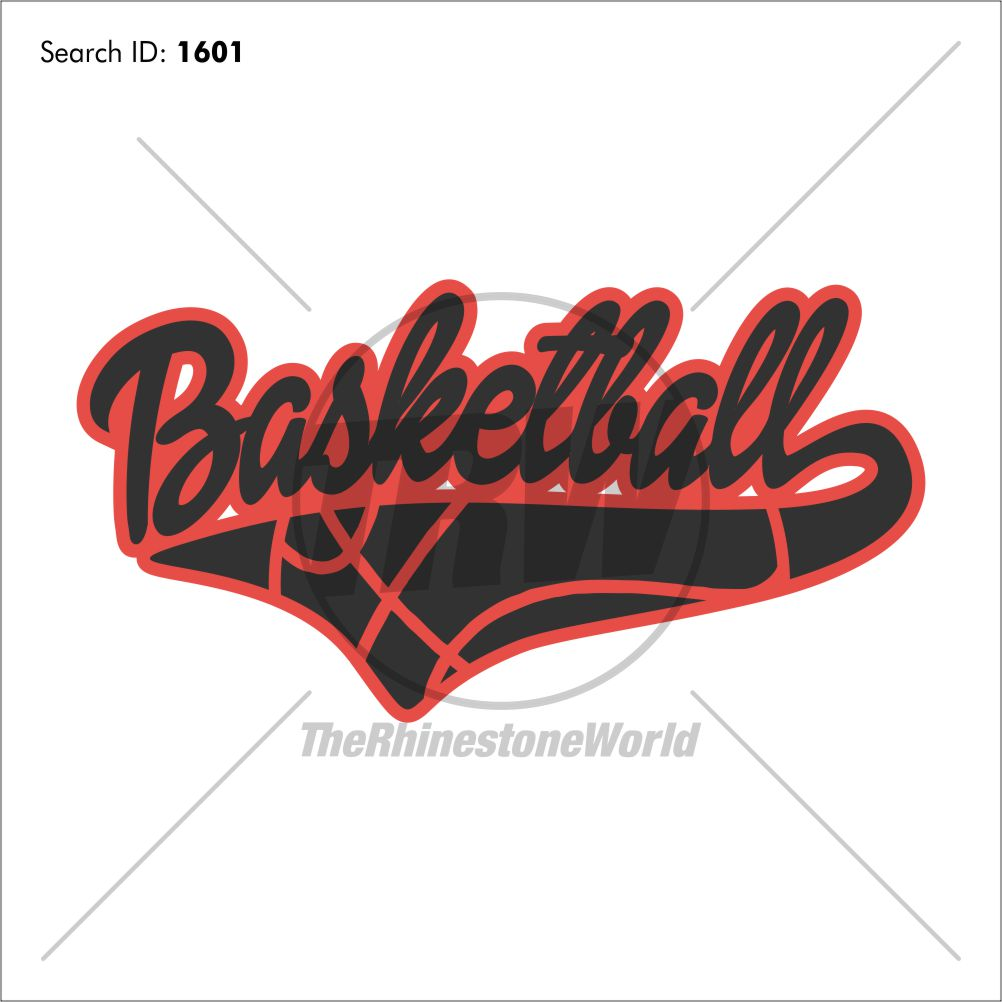 Basketball Tail 4 Heat Transfer Vinyl Design - Download