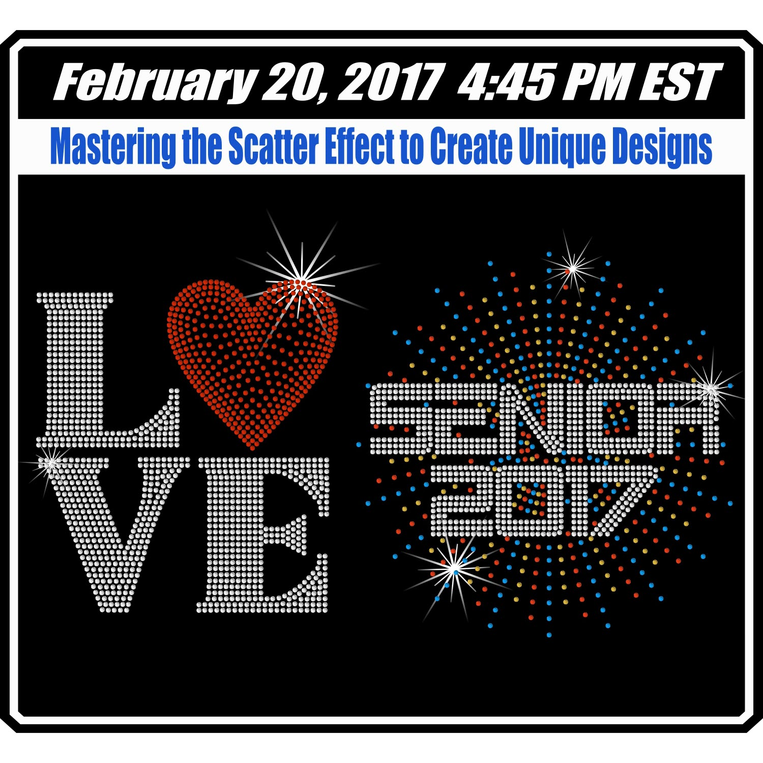 Mastering the Scatter Effect - February 20th, 2017