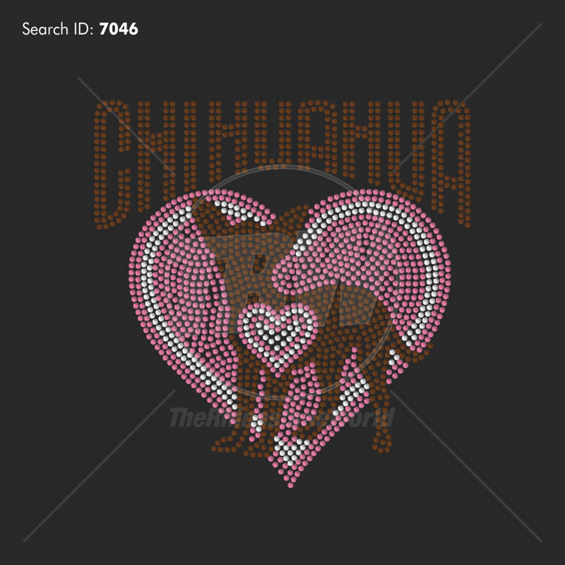 CHIHUAHUA HEART Design - Download