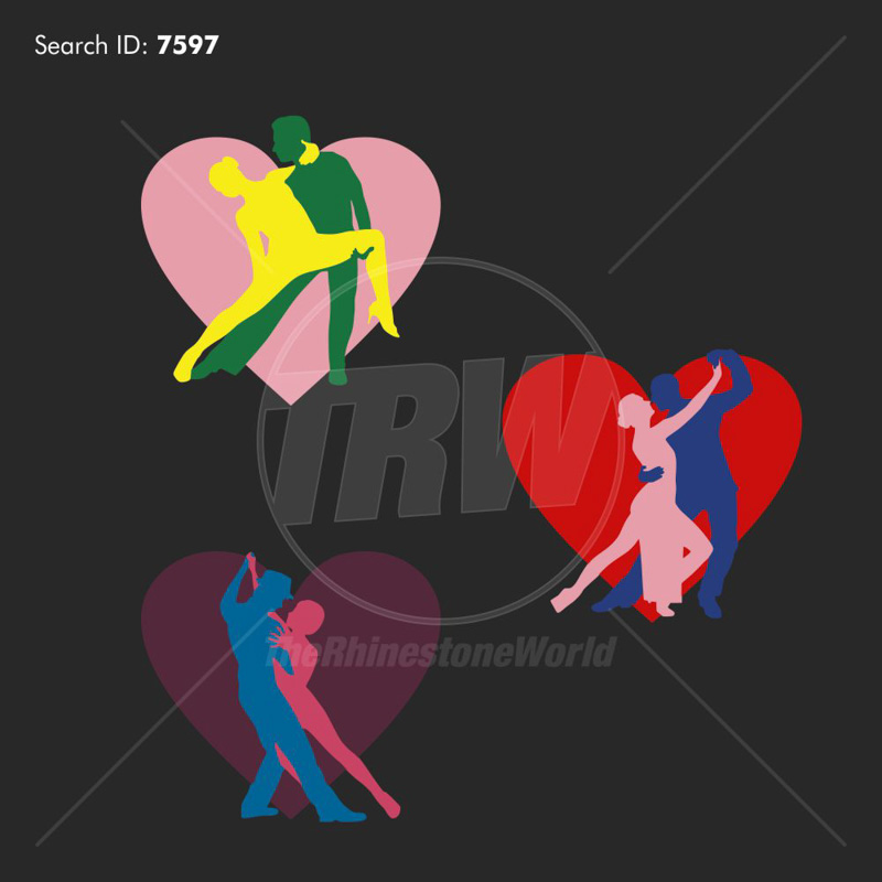 Couples Dance Silhouette Vector Design - Download