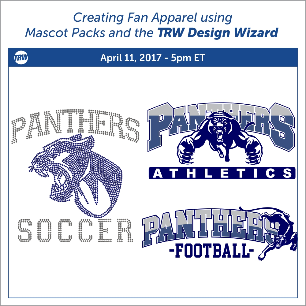 Creating Fan Apparel with Mascot Pack and the Design Wizard