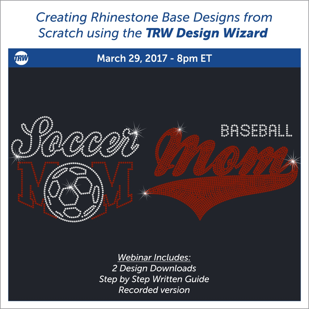 Creating Rhinestone Base Designs from Scratch - March 29th, 2017