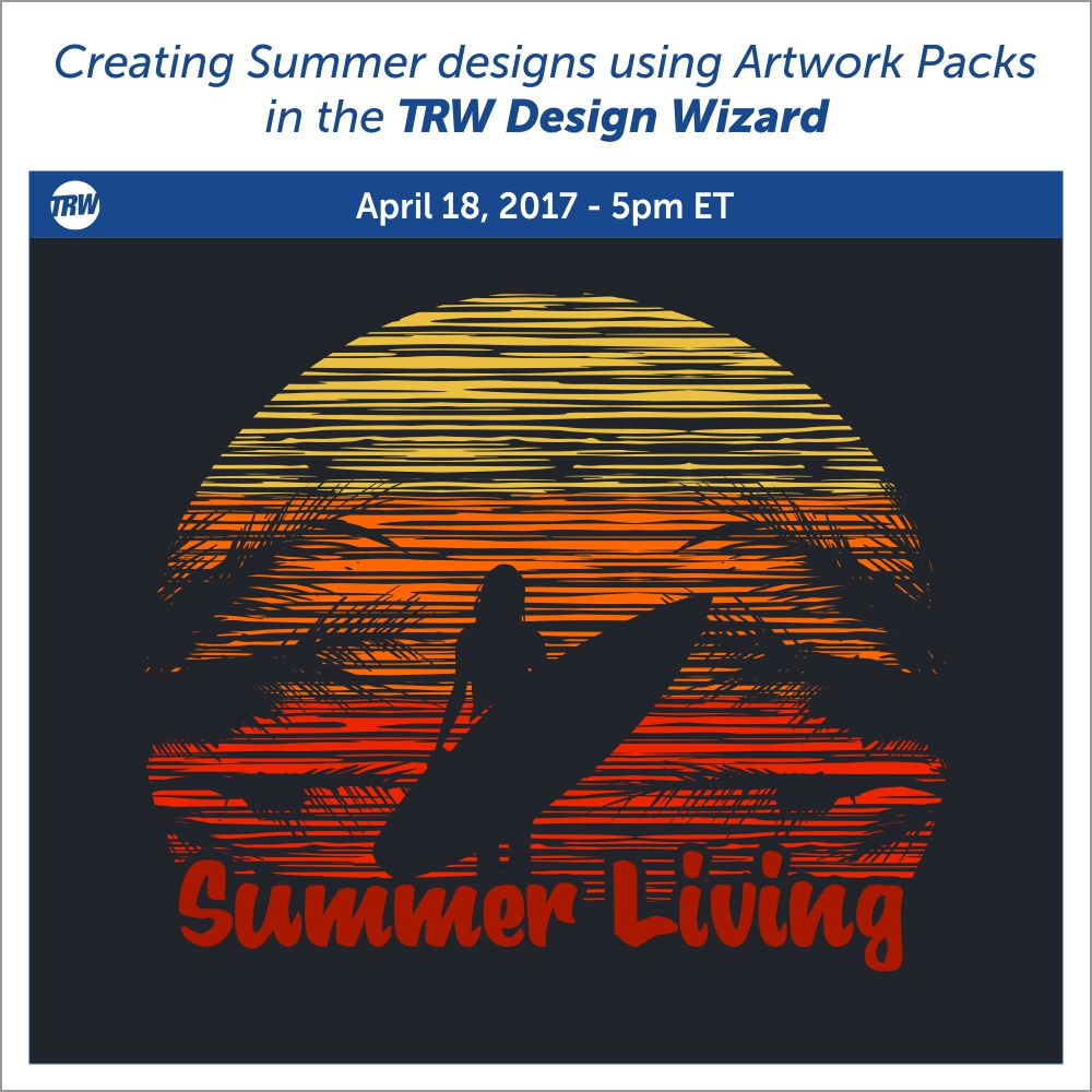 Creating Summer Designs using Artwork Packs